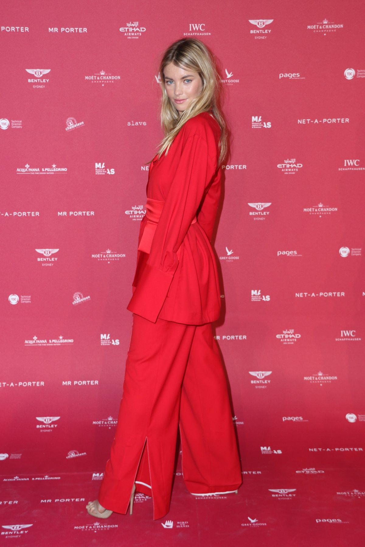 Elyse Taylor At Inaugural Museum Of Applied Arts And Sciences Fashion Ball In Sydney Celebzz