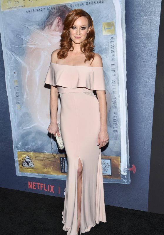 Fiona Vroom At Altered Carbon Premiere in Los Angeles