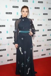 Florence Pugh At InStyle EE Rising Star Party at Granary Square Brasserie, London, UK