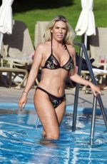 Frankie Essex Is seen this on holiday in Portugal