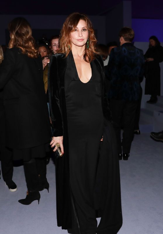 Gina Gershon At Tom Ford F/W 2018 Fashion Show in NYC