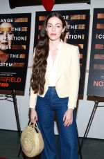 Hailey Gates At New York Special Screening for HBO