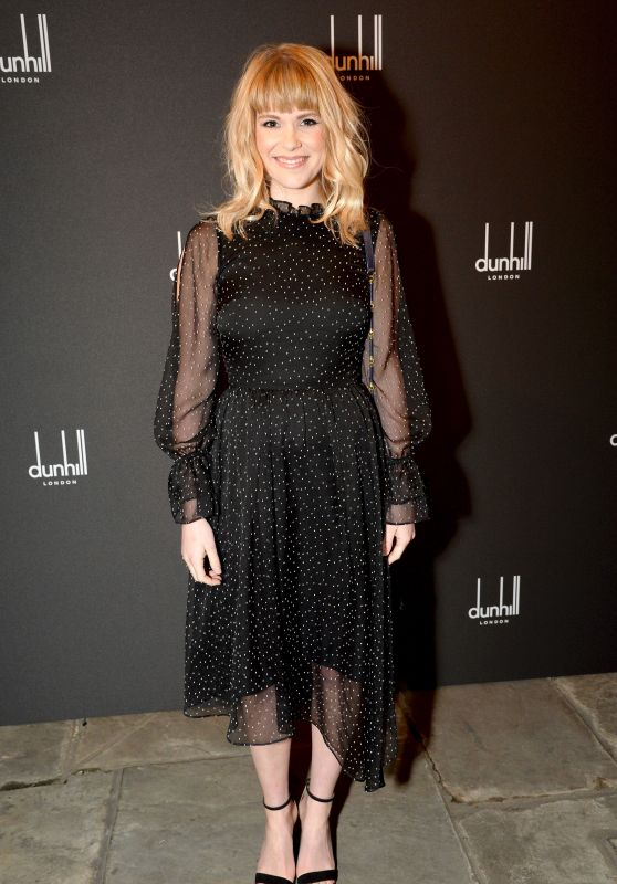 Hannah Arterton At Dunhill and Dylan Jones Pre-BAFTA Filmmakers Dinner, London, UK