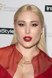 Hayley Hasselhoff At InStyle EE Rising Star BAFTAs Pre Party held at Granary Square Brasserie in London