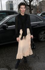 Helen McCrory At Christopher Kane show, Arrivals, Fall Winter 2018, London Fashion Week, UK