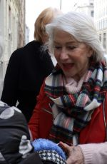 Helen Mirren Sighted outside of the Hotel Titanic in Berlin, Germany