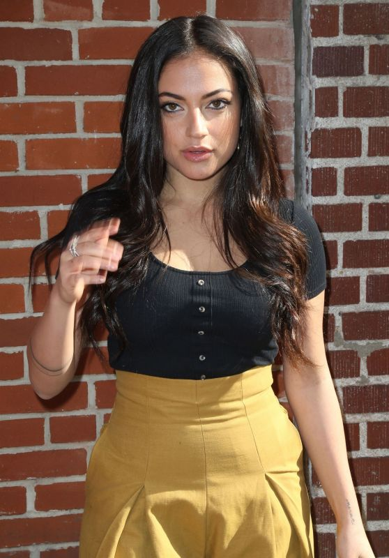 Inanna Sarkis Is spotted attending the Alice & Olivia Fashion Show during New York Fashion Week