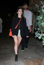 Isabelle Fuhrman Leaves Delilah after a night out in West Hollywood