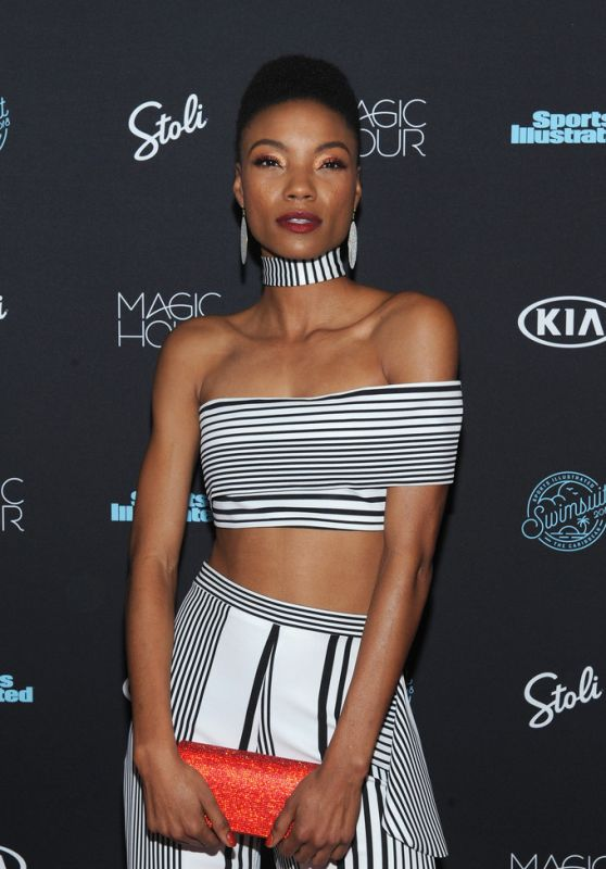 Iyonna Fairbanks At Sports Illustrated Swimsuit 2018 Launch Event in NYC