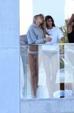 Jasmine Tookes, Romee Strijd, and Taylor Hill photoshoot in Miami