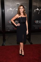 "Jenna Fischer At premiere of ""The 15:17 To Paris"" in Burbank"