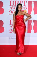 Jennifer Hudson At 38th Brit Awards, Arrivals, The O2 Arena, London