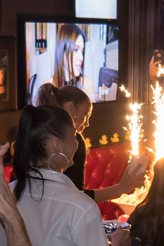 Jennifer Lopez Celebrates with her twins 10th birthday at Sugar Factory in Las Vegas