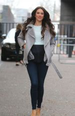 Jessica Cunningham Outside ITV Studios in London