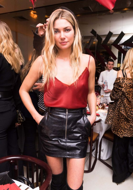 Jessica Hart At Frame Fifth Anniversary Dinner in New York