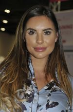 Jessica Shears At Professional Beauty Exhibition in London