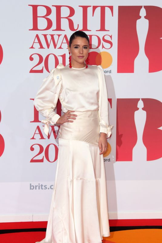Jessie Ware At 38th Brit Awards, Arrivals, The O2 Arena, London