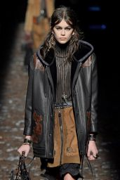 Kaia Gerber Walks for Coach 1941 during New York Fashion Week in NYC