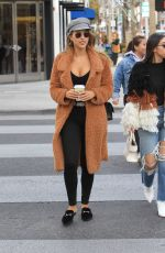 Kara Del Toro Displays ample cleavage while shopping in Beverly Hills