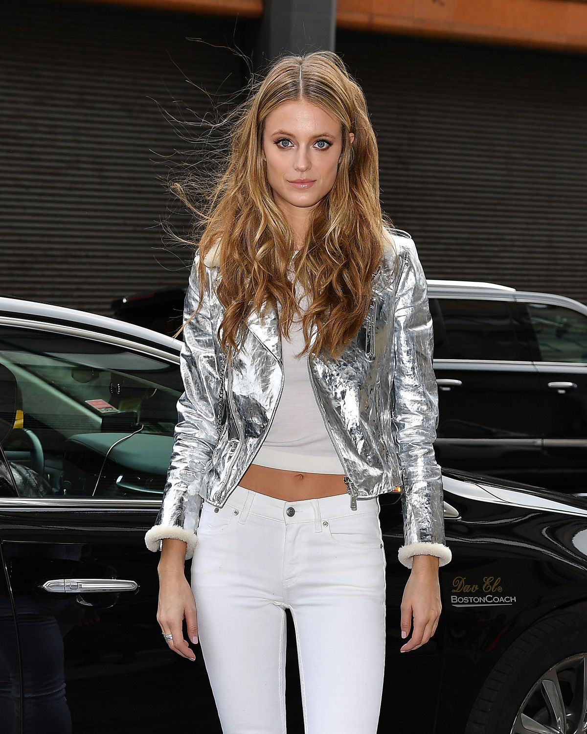 Kate Bock Arrives at Ralph Lauren Fashion Show in New York ...