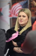Kelly Clarkson Appears on the Today Show, NYC