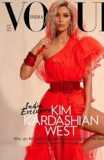 Kim Kardashian - Vogue Magazine, India March 2018