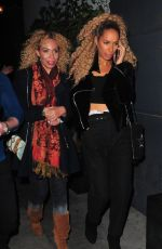 Leona Lewis At The Dream Hotel in Los Angeles