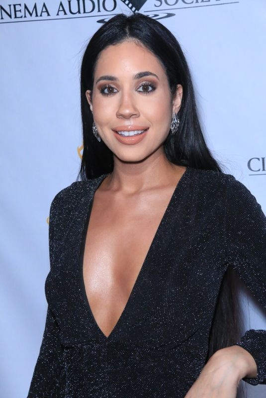 Lexi Noel At The Cinema Audio Society Awards, Los Angeles
