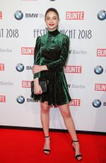 Lisa-Marie Koroll At Bunte & BMW Festival Night - 68. Berlinale International Film Festival in Berlin