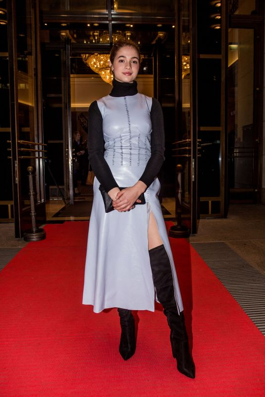Lisa-Marie Koroll Attends the reception of the Medienboard during the Berlinale International Film Festival in Berlin