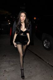 Madison Beer Arrives at her listening party at The Peppermint Club in West Hollywood
