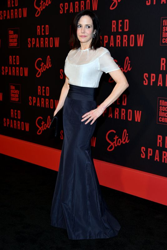 Mary-Louise Parker At Red Sparrow