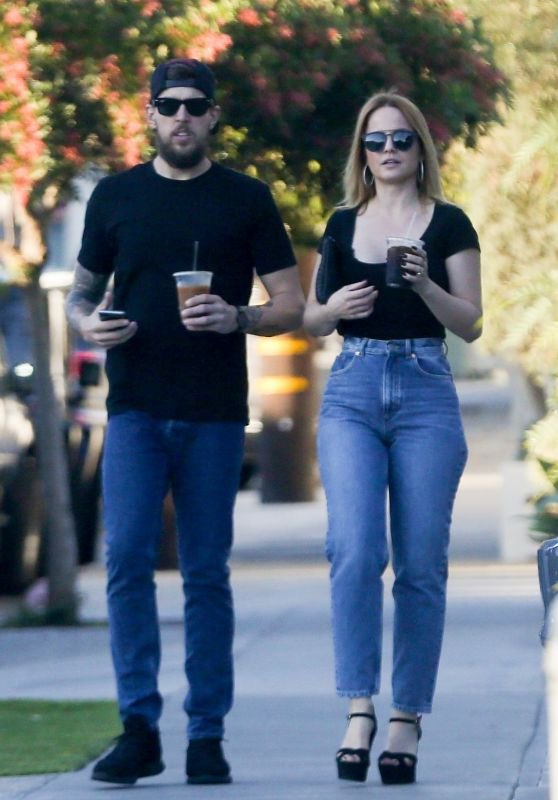 Mena Suvari Out in West Hollywood