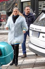 Michelle Hunziker Out and about in Milan