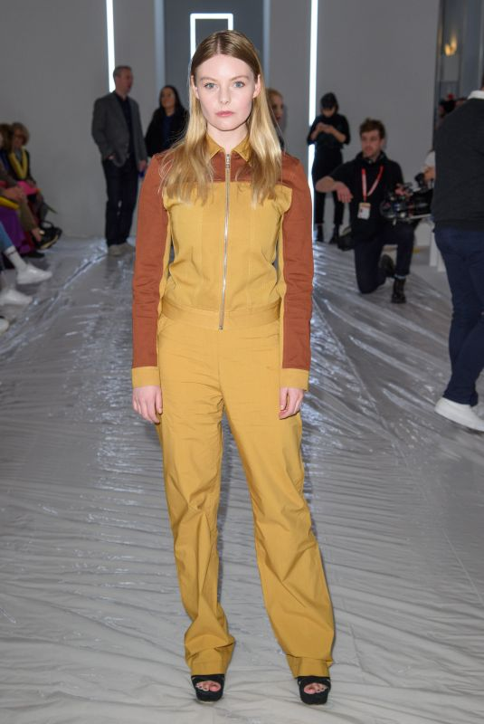 Nell Hudson At Jasper Conran show, London Fashion Week