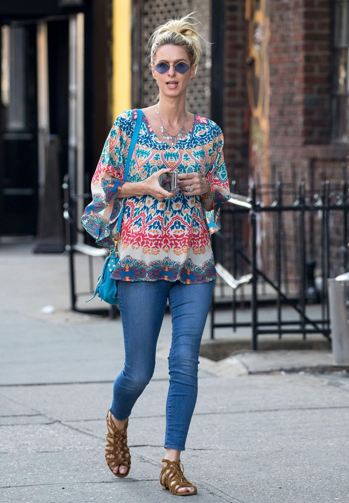 420081fe45b1 Nicky Hilton Out on a stroll in New York City