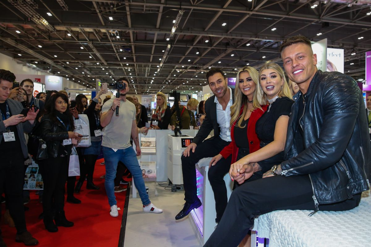 Olivia Buckland Attends The Professional Beauty London