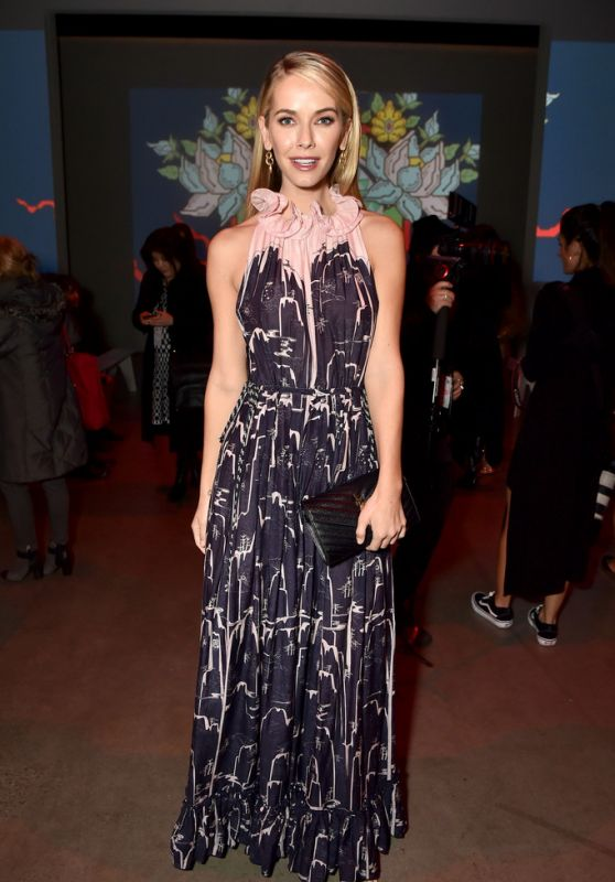 Olivia Jordan At Vivienne Tam show during New York Fashion Week