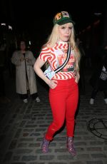 Paloma Faith Arrives at the Henry Holland show for London Fashion Week