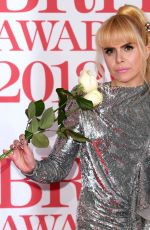 Paloma Faith At 38th Brit Awards, Arrivals, The O2 Arena, London