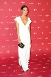 Phoebe Tonkin At Museum of Applied Arts and Sciences (MAAS) Centre for Fashion Bal at Powerhouse Museum in Sydney