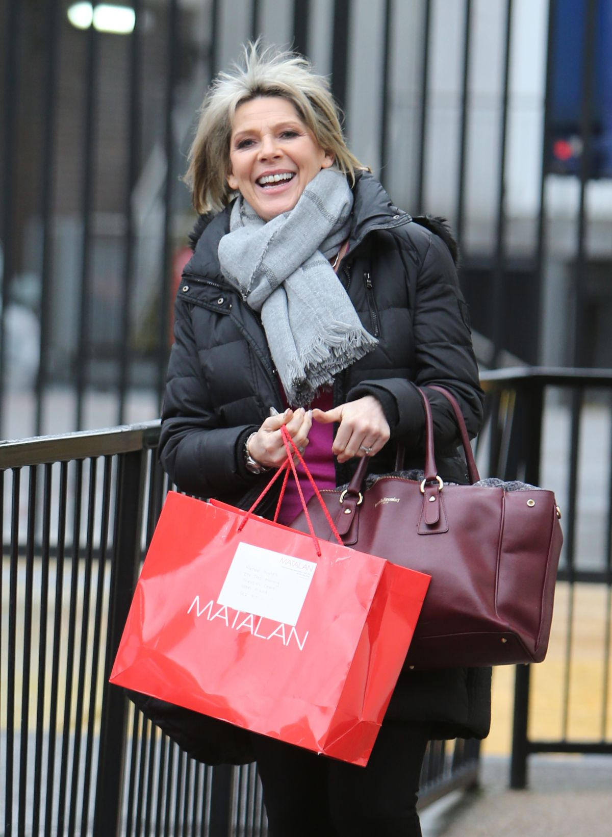 Ruth Langsford Outside ITV Studios In London