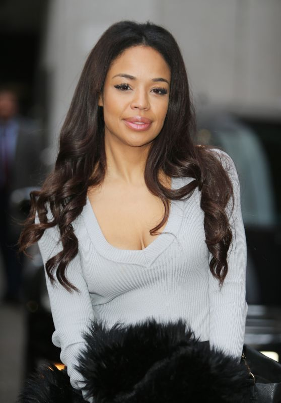Sarah Jane Crawford Outside ITV Studios, London