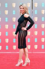 Sian Welby At EE British Academy Film Awards in London
