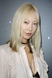 Soo Joo Park At Zadig & Voltaire show, Front Row, Fall Winter 2018, New York Fashion Week