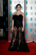 Sophie Cookson At EE British Academy Film Awards in London