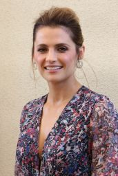 "Stana Katic At ""Absentia"" Press Conference in Los Angeles"