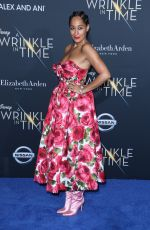 Tracee Ellis Ross At A Wrinkle in Time