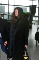 Zendaya Spotted at Heathrow Airport in London