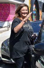 Abby Lee Miller Heading back to her halfway house after visits a nail salon in Beverly Hills